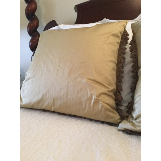 Animal Motif Needlepoint Pillows - A Pair Chairish