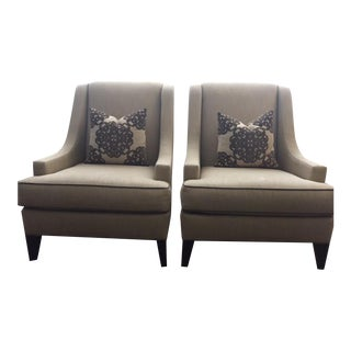 Ethan Allen Emerson Chairs- A Pair