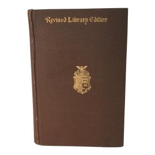 "Prescott ""Conquest of Mexico"" Antique 1890 History Book"