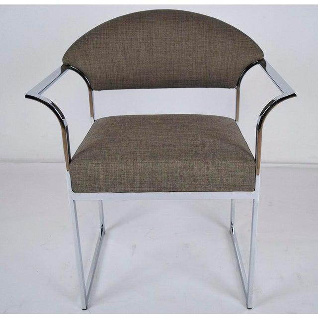 Mid-Century Modern Dining Chairs - Set of 6 - Image 4 of 9
