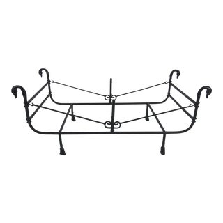 Giacometti Style Wrought Iron Coffee Table