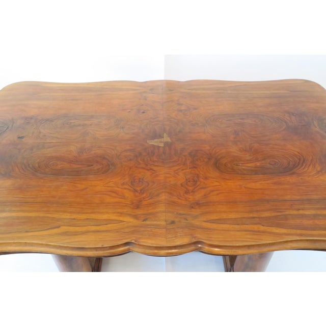 Beidermeier Style Dining Table - Image 4 of 8