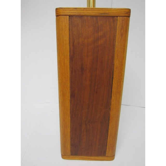 Mid Century Modern Solid Wood Table Lamp - Image 6 of 10