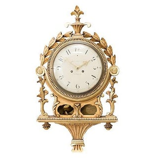 Antique Swedish Wall Clock