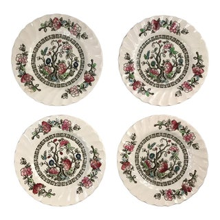 Myott English Staffordshire Bread & Butter Plates - Set of 4