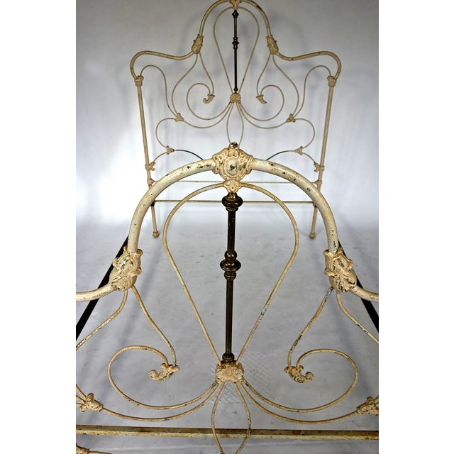 Image of Classic Victorian Wrought Iron Bed