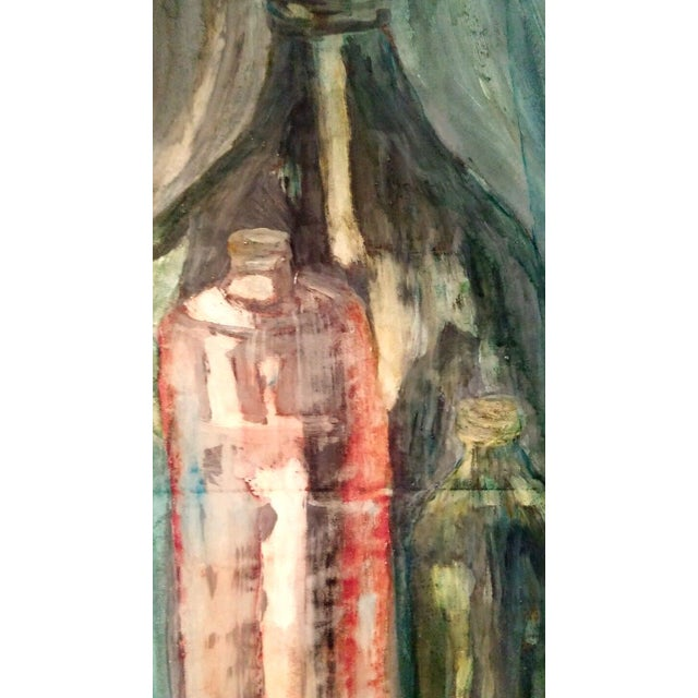 Mid-Century Still Life Oil Painting by Pat Sharp - Image 3 of 7