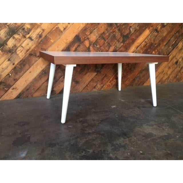 Mid-Century White Coffee Table - Image 7 of 7