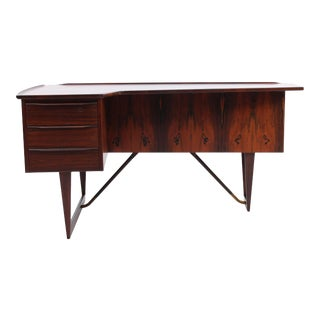 Rosewood Desk by Peter Lovig Nielsen, 1956