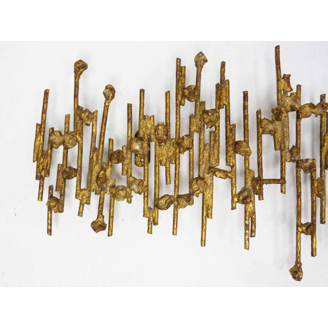 Brutalist Spanish Wall Sculpture - Image 3 of 8