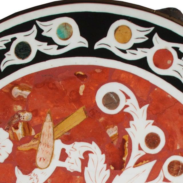 Pietra Dura Mosaic Table - Image 4 of 10