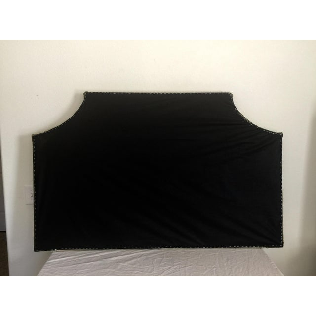Image of Queen Size Olive Green Headboard