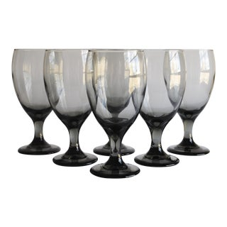 Mid-Century Wine Glasses - Set of 6