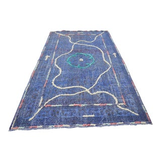 "Contemporary Turkish Handmade Rug - 9'6"" X 5'4"""