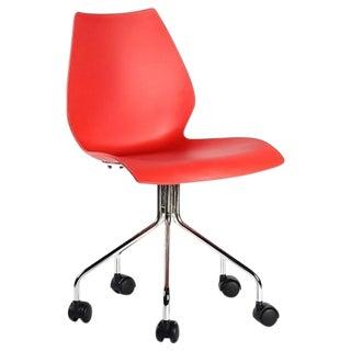 Kartell Maui Orange Desk Chair