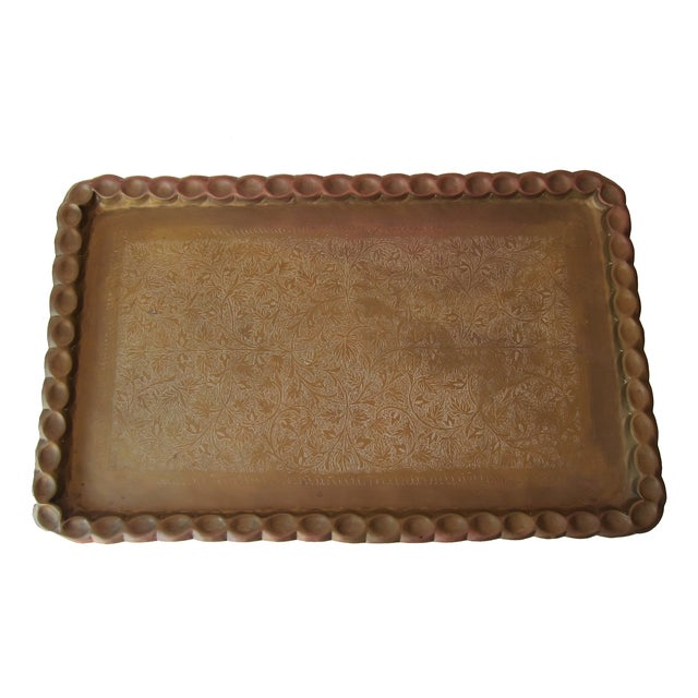 Image of Vintage Moroccan Tray Table