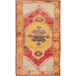 "Apadana - Vintage Turkish Anatolian Rug, 1'10"" x 3'3"""