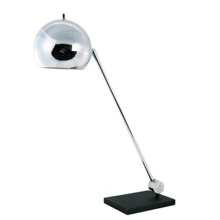 Robert Sonneman Chrome Ball Desk Lamp