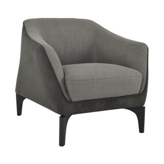 Charcoal Trento Club Chair