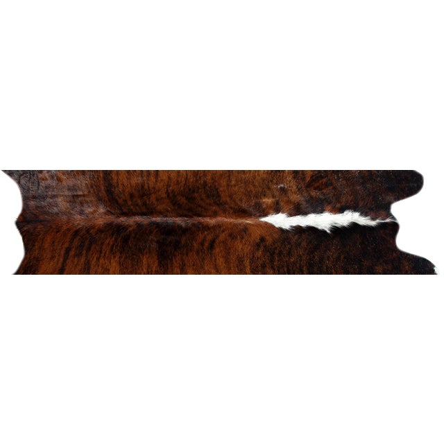 "Brazilian Brown Cowhide Rug - 5'9"" x 5'11"" - Image 2 of 2"
