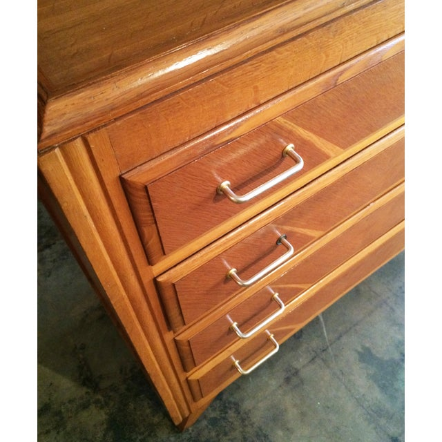 French Mid-Century Modern Dresser - Image 6 of 9