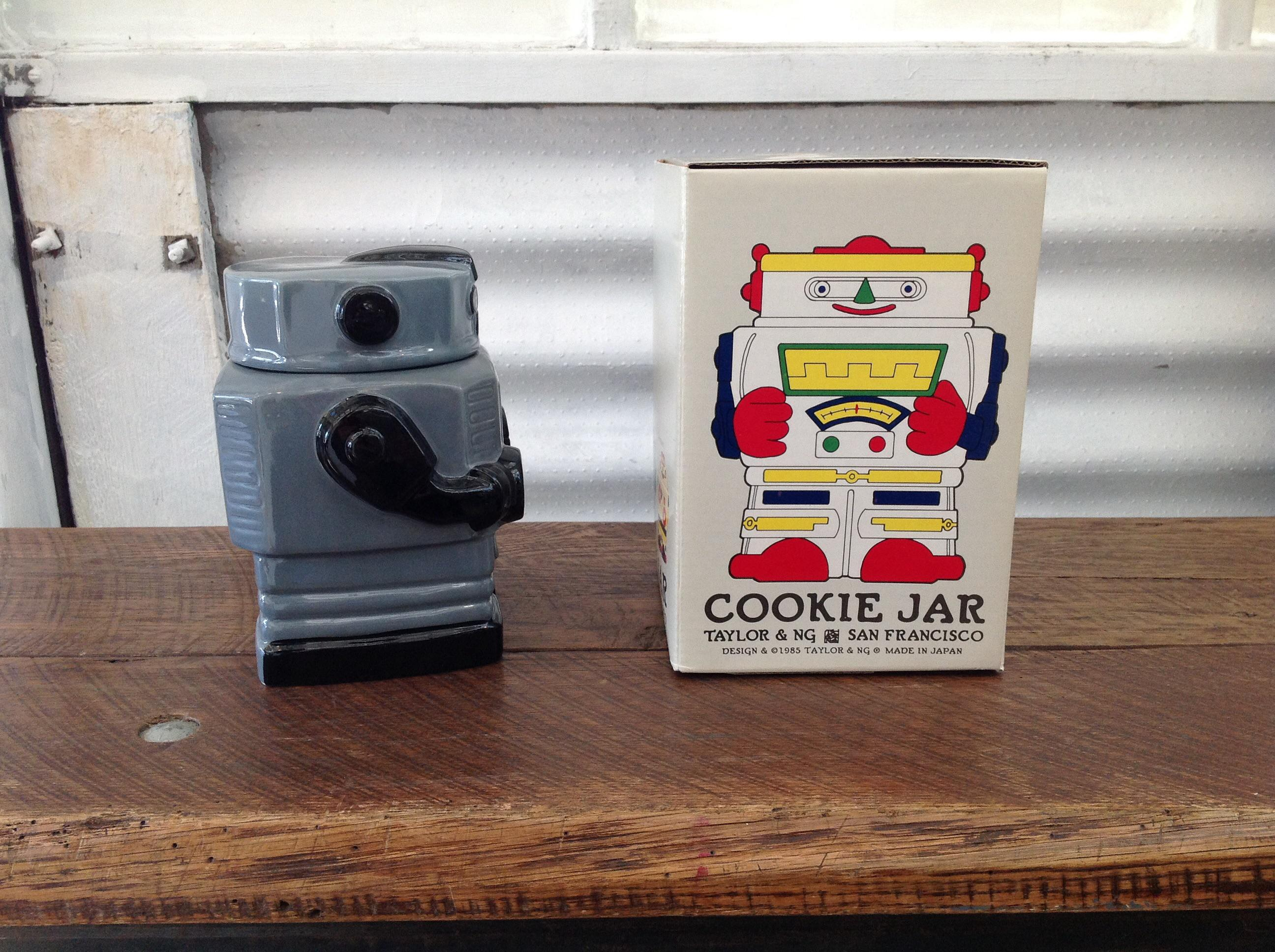 Taylor U0026 Ng San Francisco Robot Cookie Jar   Image 4 Of 11