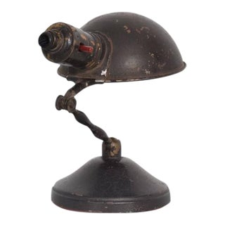 Industrial Desk or Wall Sconce Lamp, Mid-Century Period