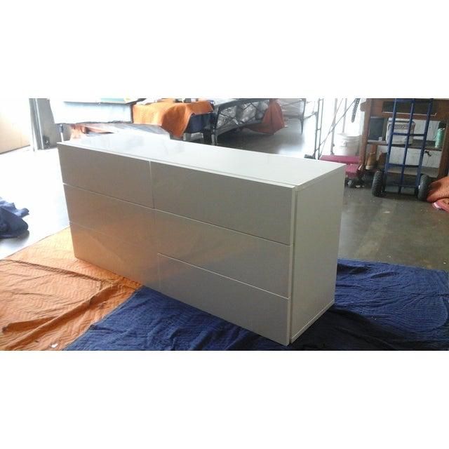 Aurora Modern High Gloss Dresser - Image 2 of 3