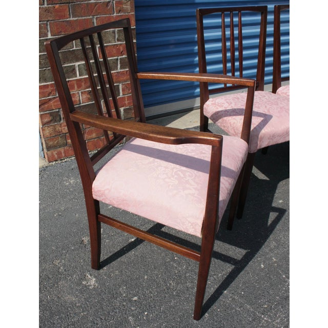 Mid-Century Modern Mahogany Dining Chairs - Set of 6 ...