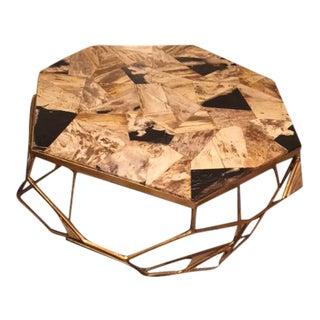 Palecek Giselle Petrified Wood Coffee Table