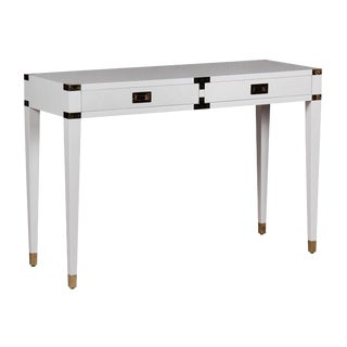 Selamat Designs White Chiba Console Table
