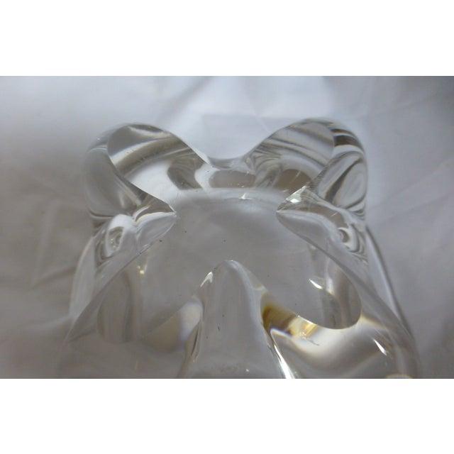 Vintage 1960s Swedish Orrefors Glass Bowl - Image 4 of 6
