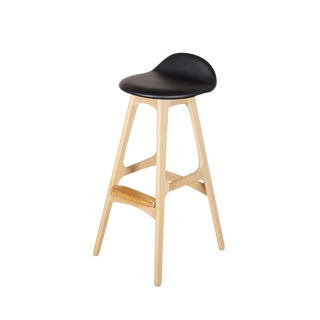 Erik Buch Bar Stool in Oak, Six Available