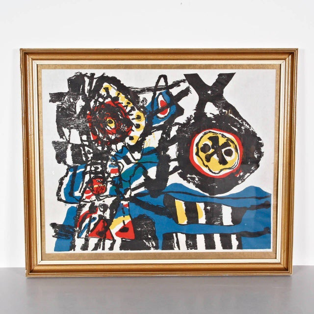 """J. Diedren """"Kinderen Tussen Het Blaw"""" Lithography, 1965 - Image 2 of 10"""