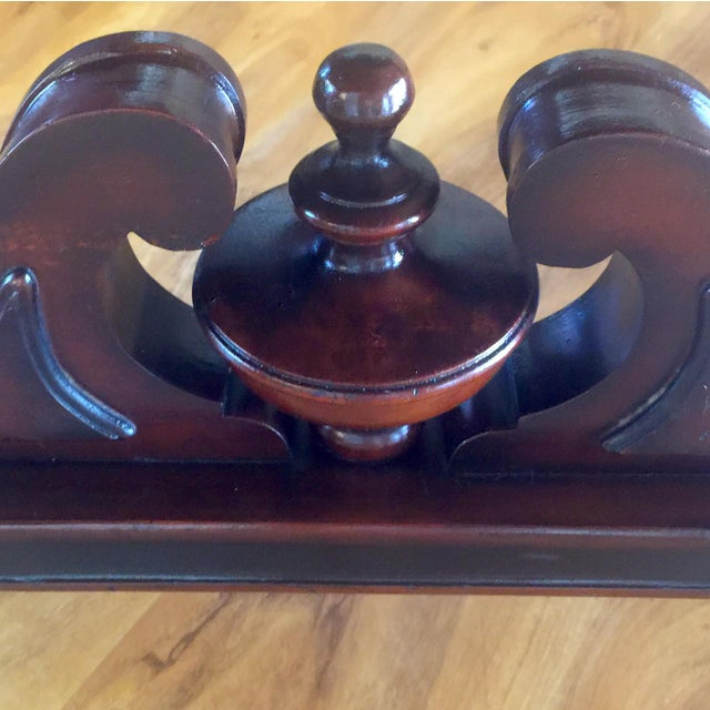 Vintage Traditional Mahogany Table - Image 3 of 8