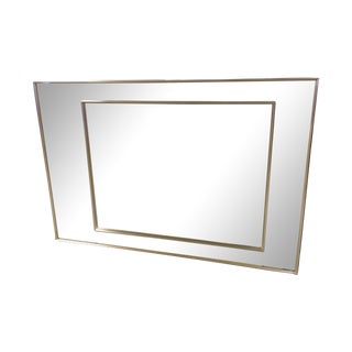 La Barge Double Frame Rose Gold Mirror