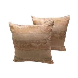 Textured Pillows- A Pair