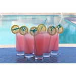 Image of Palm Springs Party Drink Stirrers in Turquoise - 6