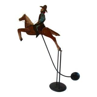 Cowboy on Horse Balance Desk Toy