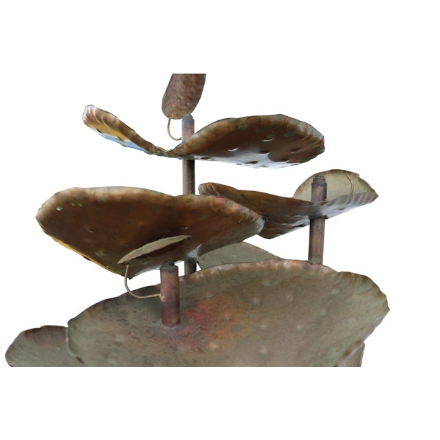 Image of Brutalist Brass Water Fountain