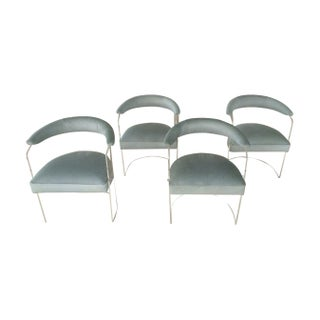 Mid-century Modern Lucite Chairs - Set of 4