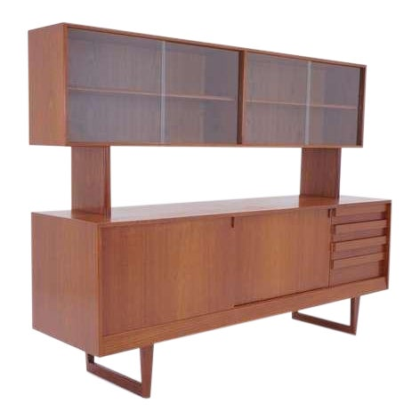 Kurt Ostervig Two Piece Storage Cabinet, Room Divider, or Credenza - Image 1 of 5