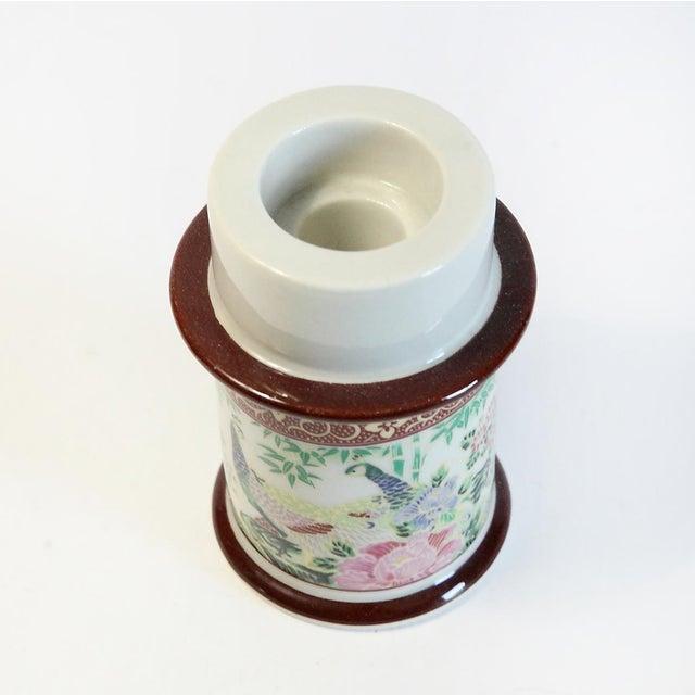 Japanese Floral Motif Candle Holder - Image 3 of 5