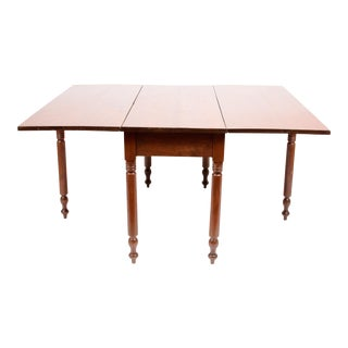 Semi-Antique Drop Leaf Table