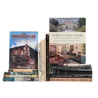 American Homes Coffee Table Books - Set of 15