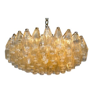 Large Venini Chandelier by Carlo Scarpa