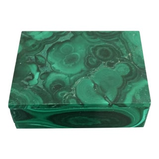 Small Malachite Box