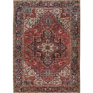 "Apadana - Vintage Persian Heriz Rug, 7'9"" x 10'9"""