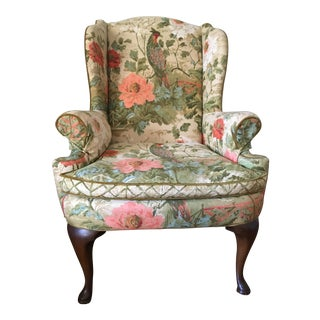 Vintage Henredon Wingback Chair
