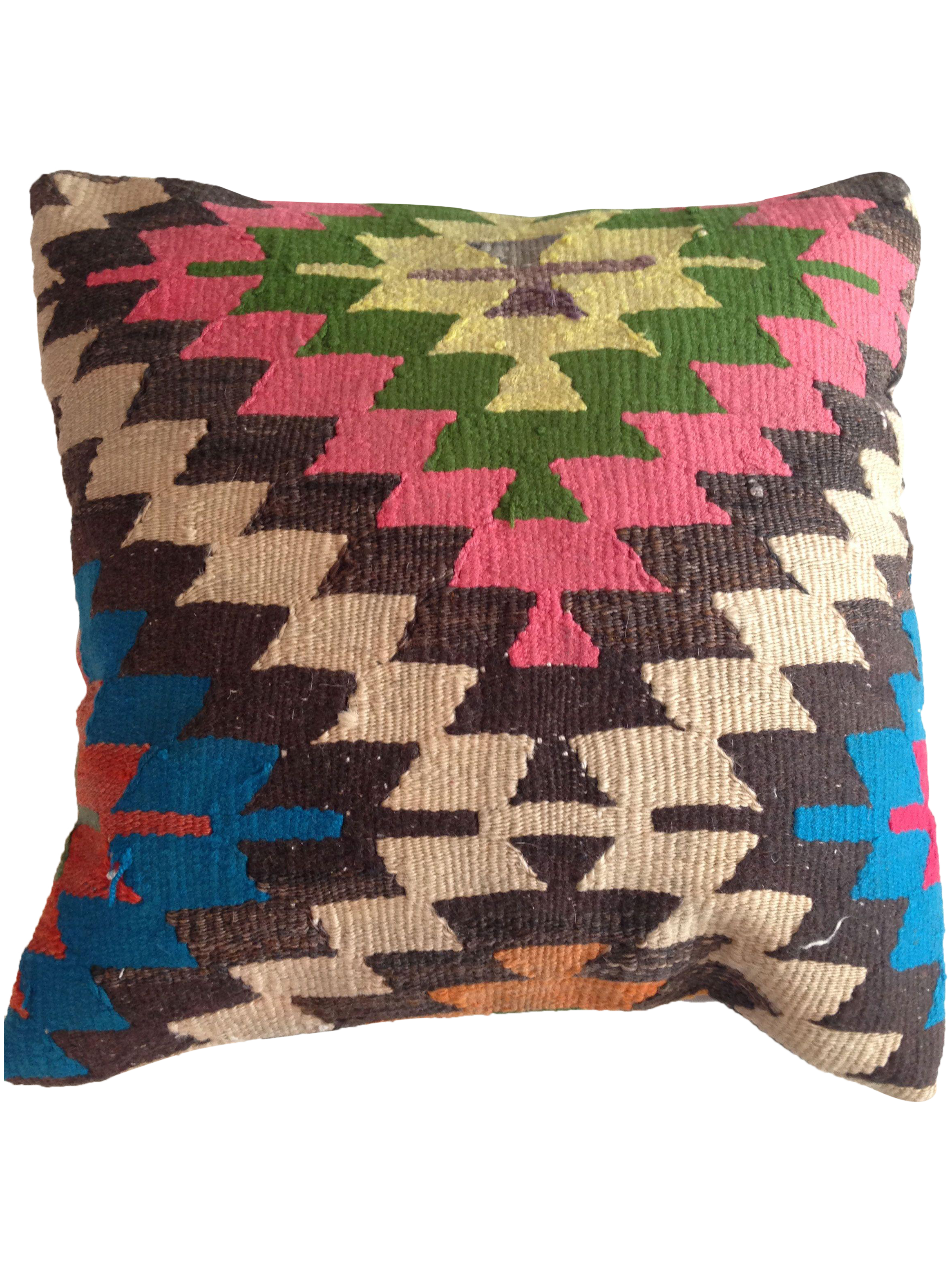 Vintage Pink Kilim Pillow Chairish